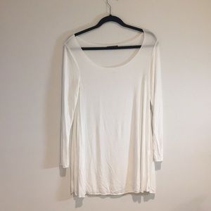 White brandy Melville long sleeve